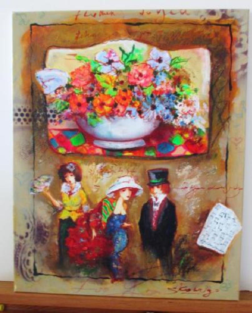 Sergey Kovigo Original Oil on Stretched Canvas