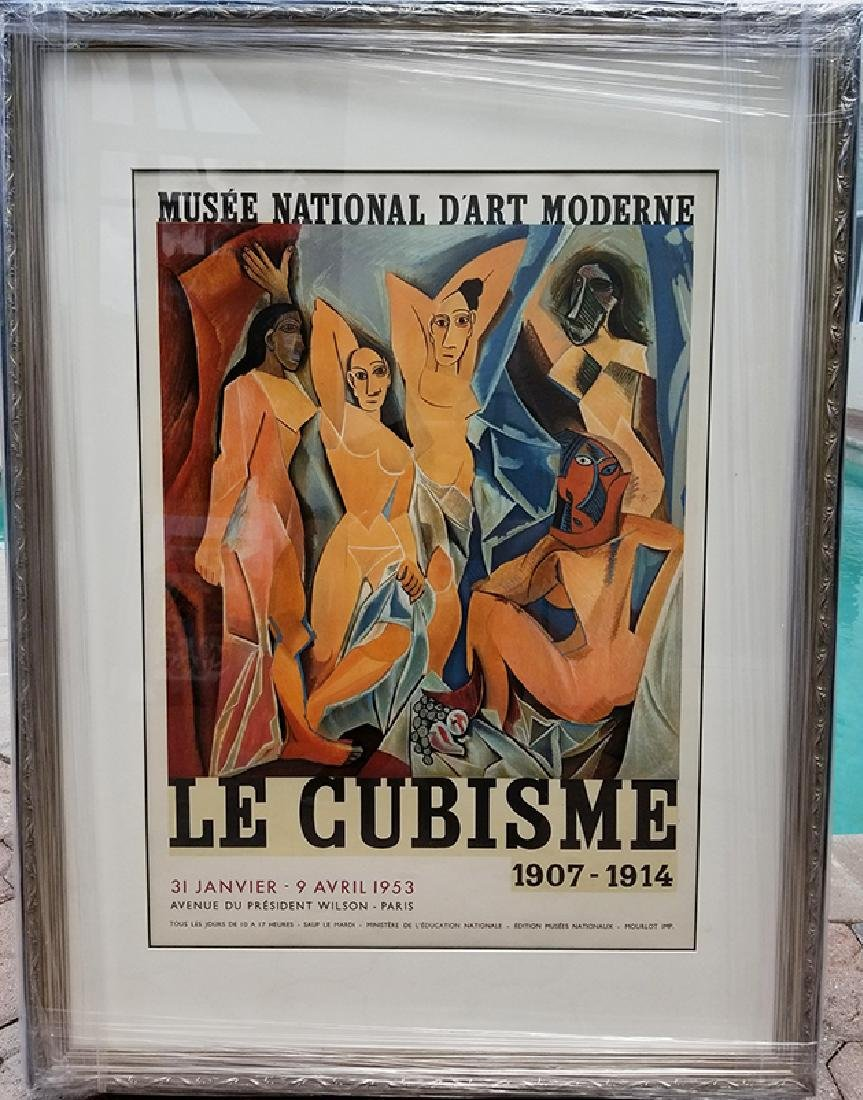 "Pablo Picasso Exhibition Lithograph Poster, ""Le"