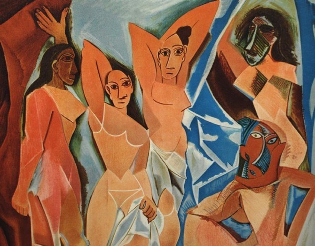 "Pablo Picasso Exhibition Lithograph Poster, ""Le - 3"