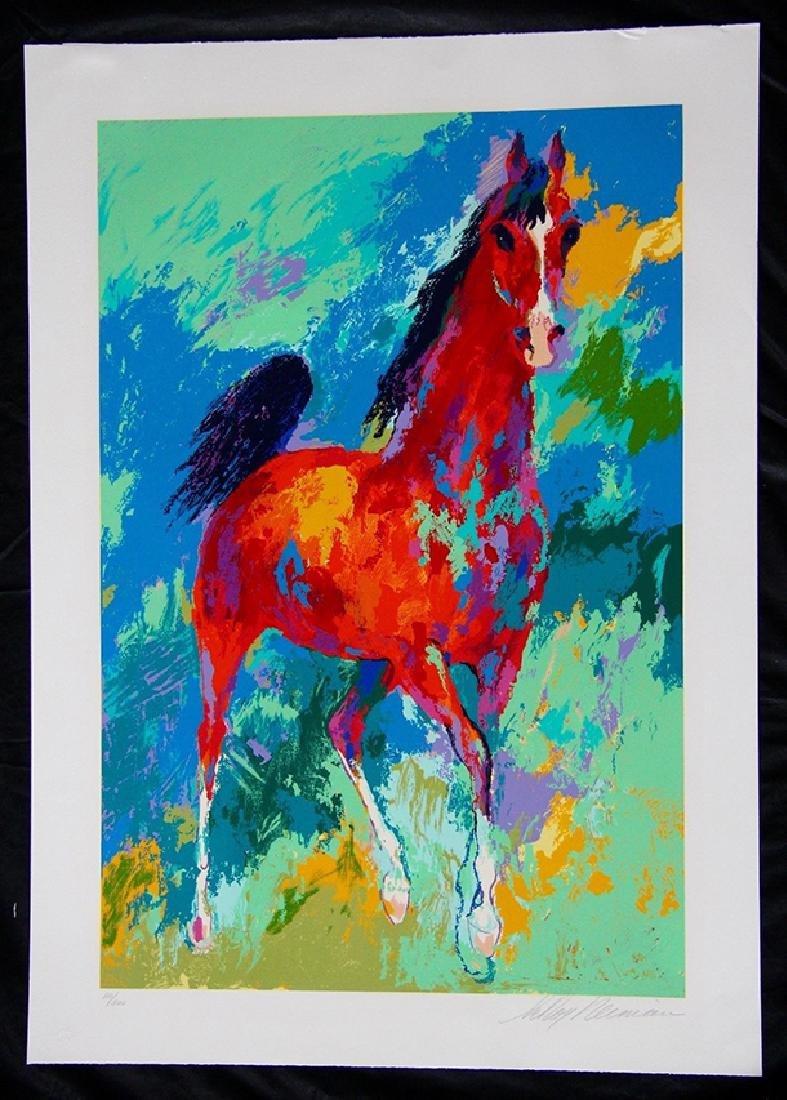 "Leroy Neiman ""Khemosabi"" Arabian Stallion Hand S/#"