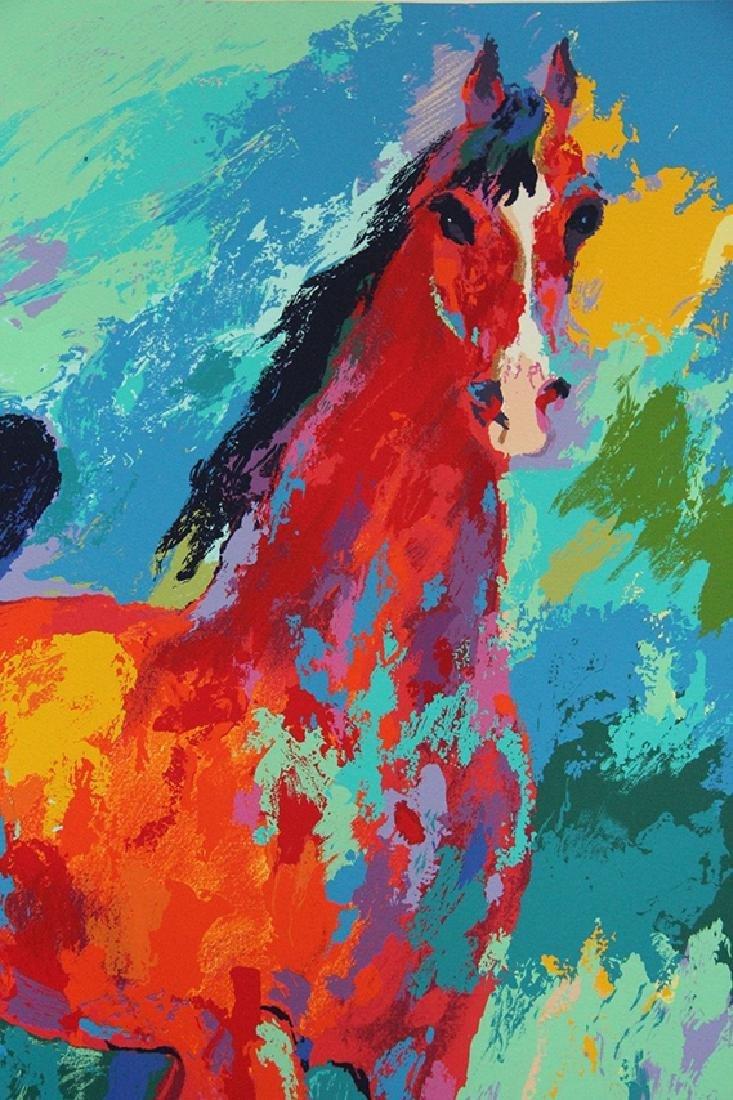 "Leroy Neiman ""Khemosabi"" Arabian Stallion Hand S/# - 2"