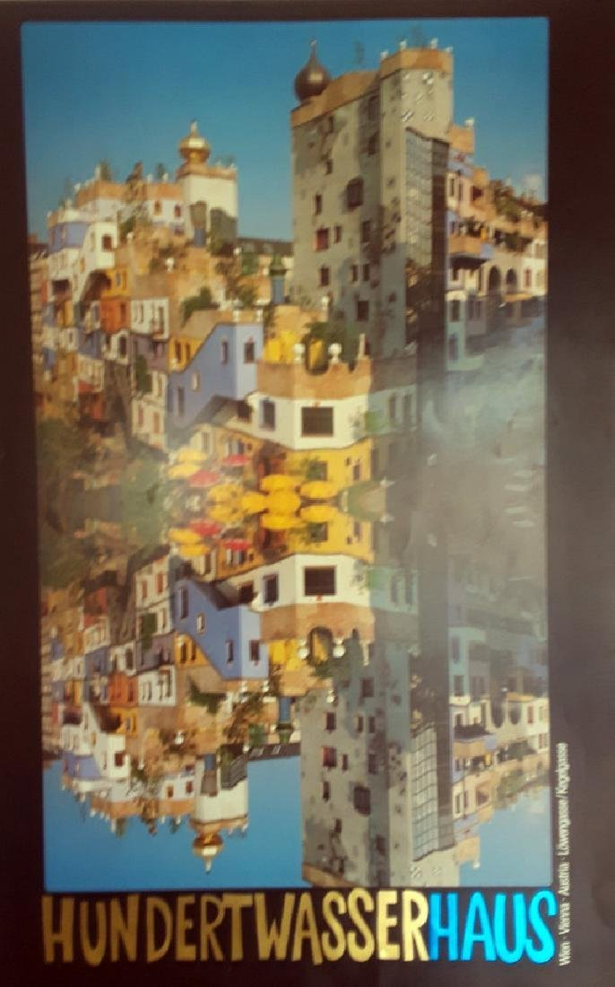 """Friedensreich Hundertwasser """"Hundertwasser House"""" Rare,"""