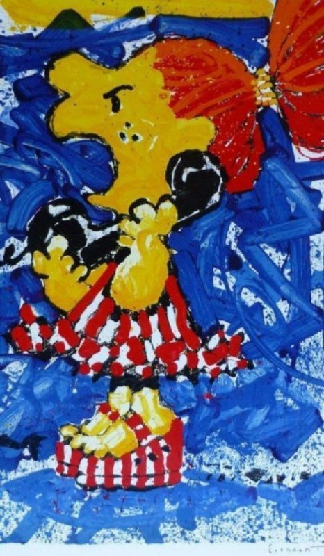 """Tom Everhart """"1-800-My Hair is Pulled Too Tight"""" HS/N"""