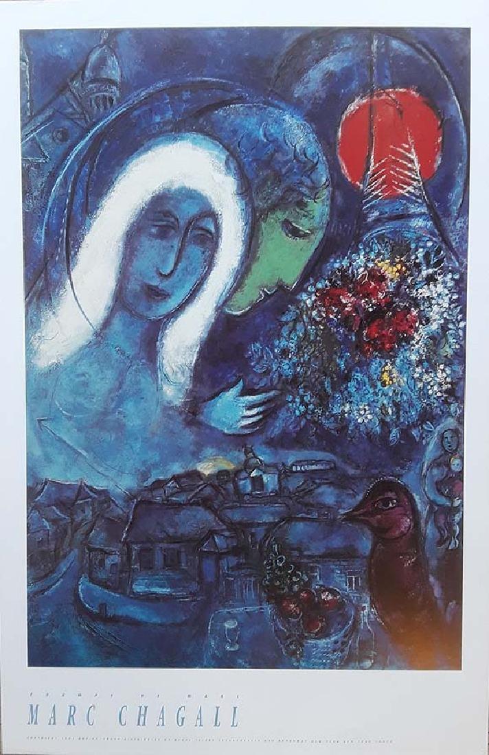 Marc Chagall, Original exhibition poster