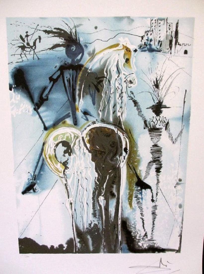 "Salvador Dali ""DON QUICHOTTE"" Limited Ed. Lithograph"