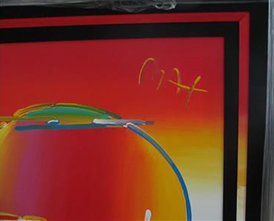 Peter Max Original Acrylic Canvas Umbrella Man 36 X 48 - 3