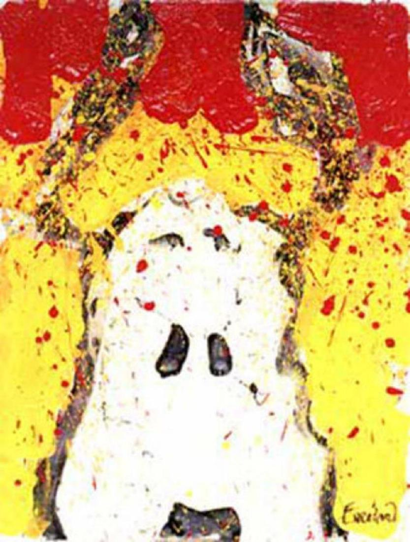 """Tom Everhart """"Watch Dog Noon"""" Hand Signed and Numbered"""