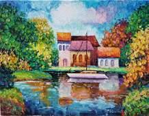 Alexander Antanenka Oil on canvas hand signed 18X24