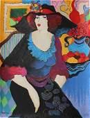 Patricia Govezensky      Serigraph on Stretched Canvas