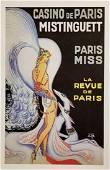 Casino De Paris Mistenquette Hand Pulled Lithograph