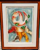 "Alexandra Nechita ""Peace Collector"" Original Lithograph"