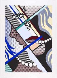 Roy Lichtenstein, Modern Art I Screenprint 1966