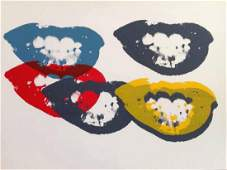 Andy Warhol I Love Your Kiss Forever Forever Sunday
