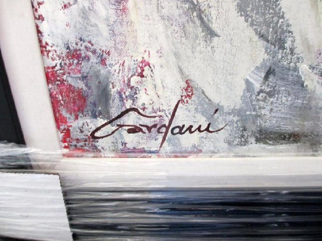 "Gardani ""Book of Poems"" Original Oil on Canvas Hand - 2"