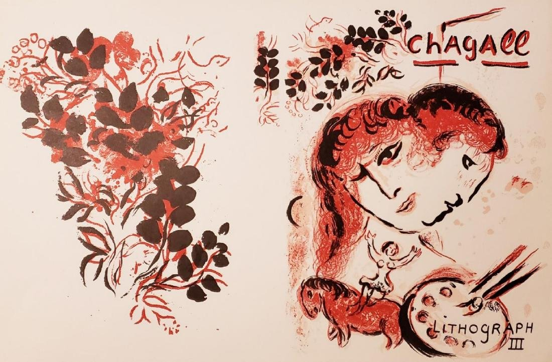 Marc Chagall Chagall Lithographe III , Mourlot, Paris