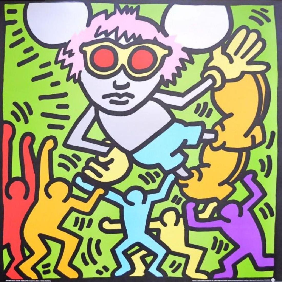 Andy Mouse (Dancing) by Keith Haring Serigraph Art