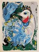 Marc Chagall Chagall Lithograph on paper signed in the