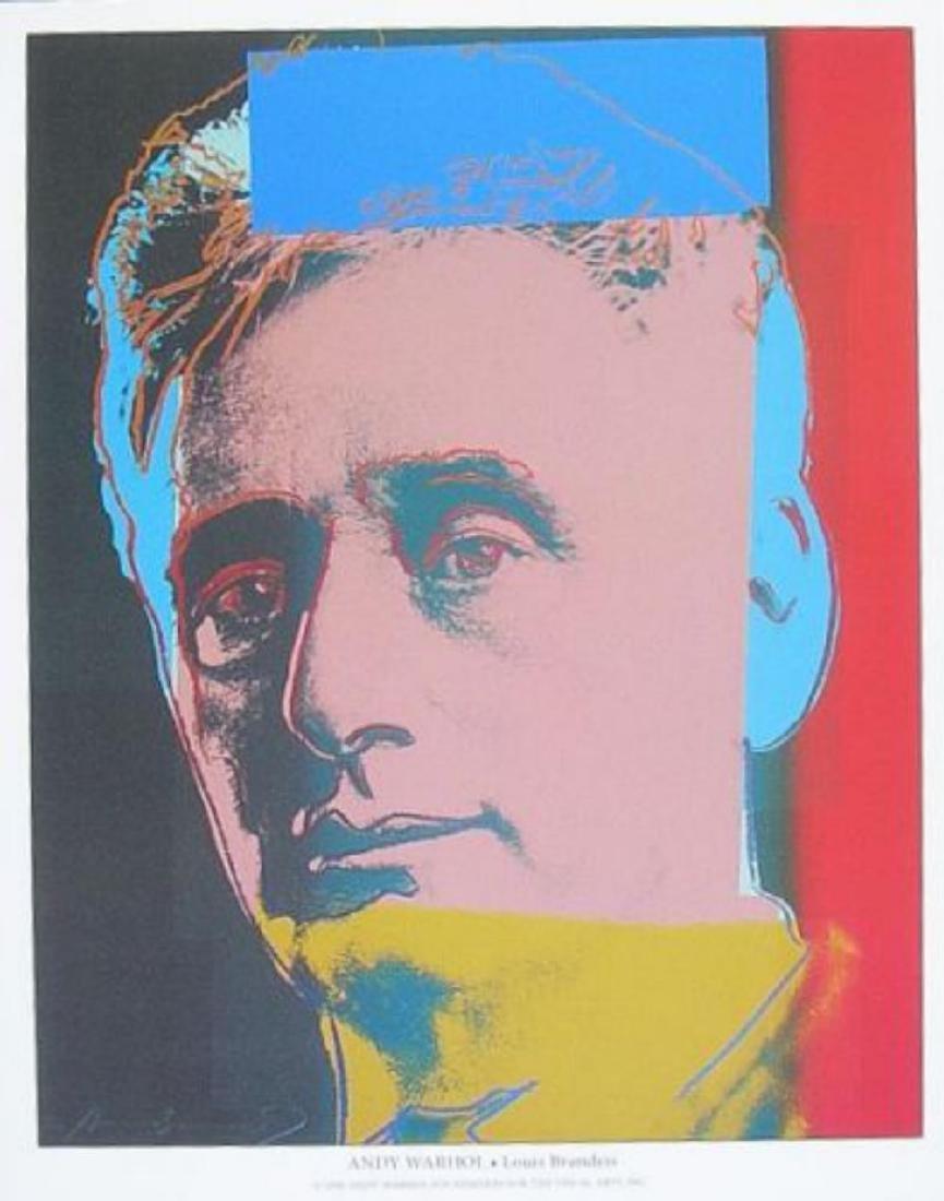 Louis Brandeis Germanposters Andy Warhol offset