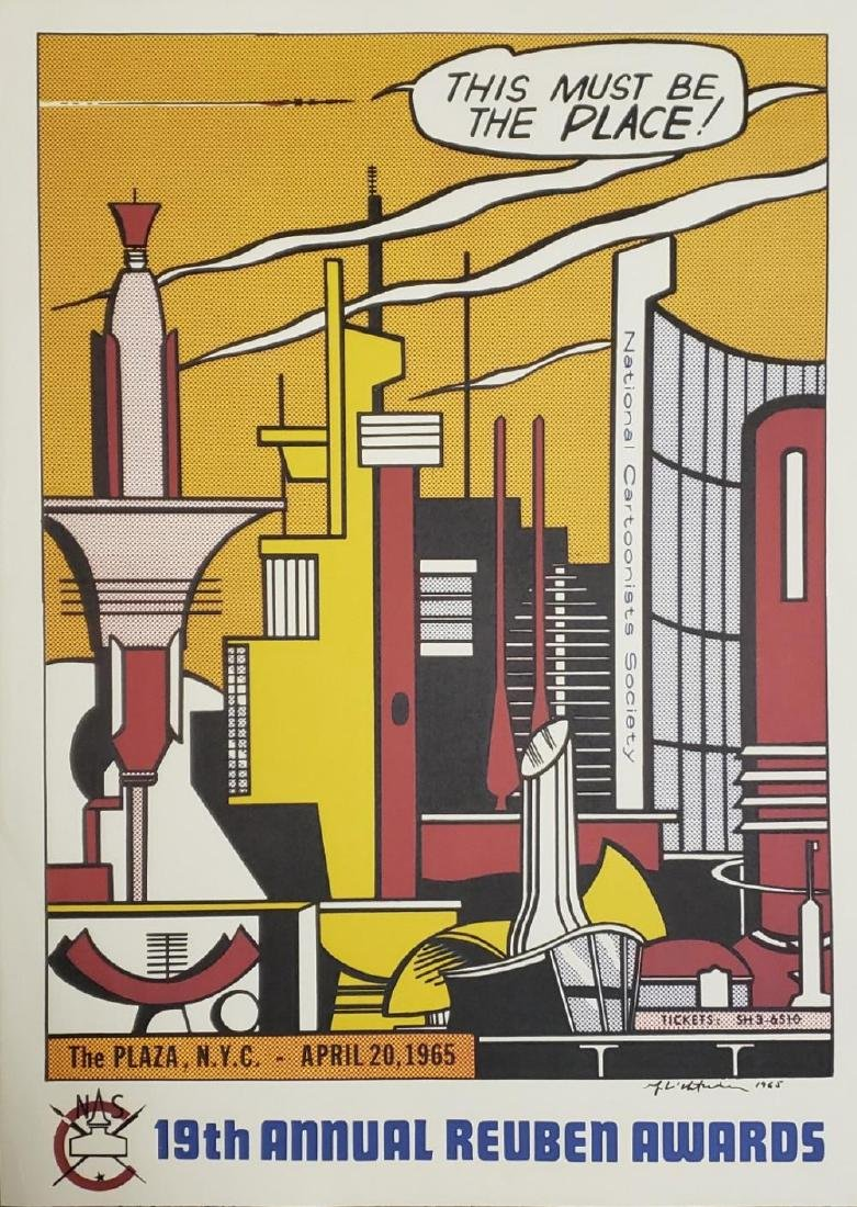 Roy Lichtenstein - This must be the place 1965 -