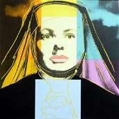 Andy Warhol, INGRID BERGMAN 314, The Nun  Silkscreen