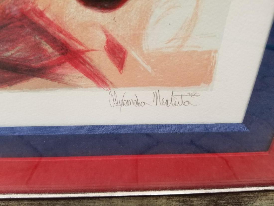 Alexandra Nechita Color Lithograph Original SIGNED and - 3