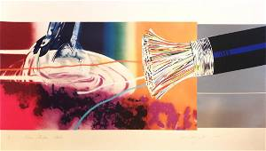 JAMES ROSENQUIST Horse Blinders (East), Lithograph &