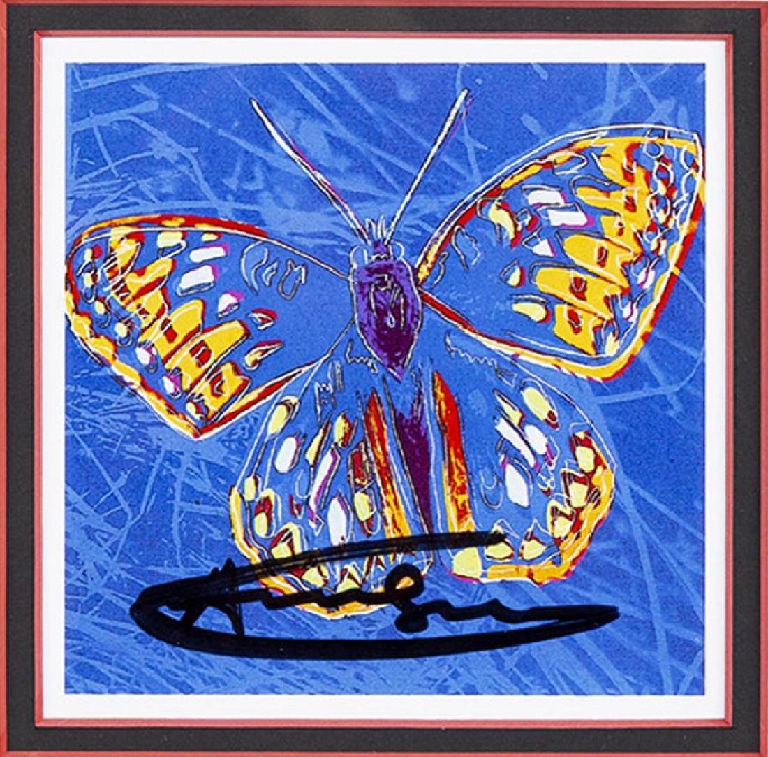 Andy Warhol, Endangered Species Invitation Framed