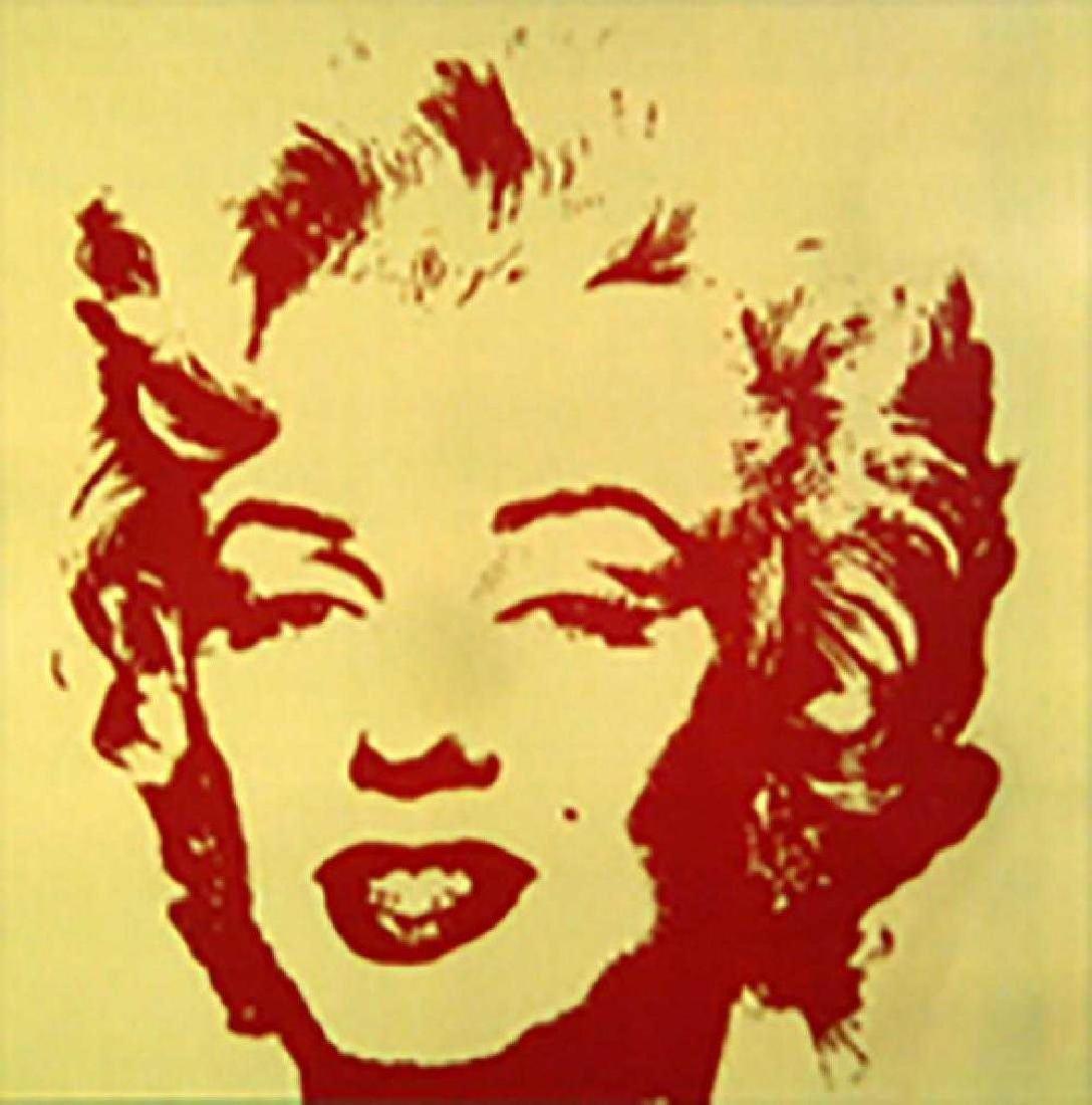 Andy Warhol Golden Marilyn 11.40 Sunday B Morning