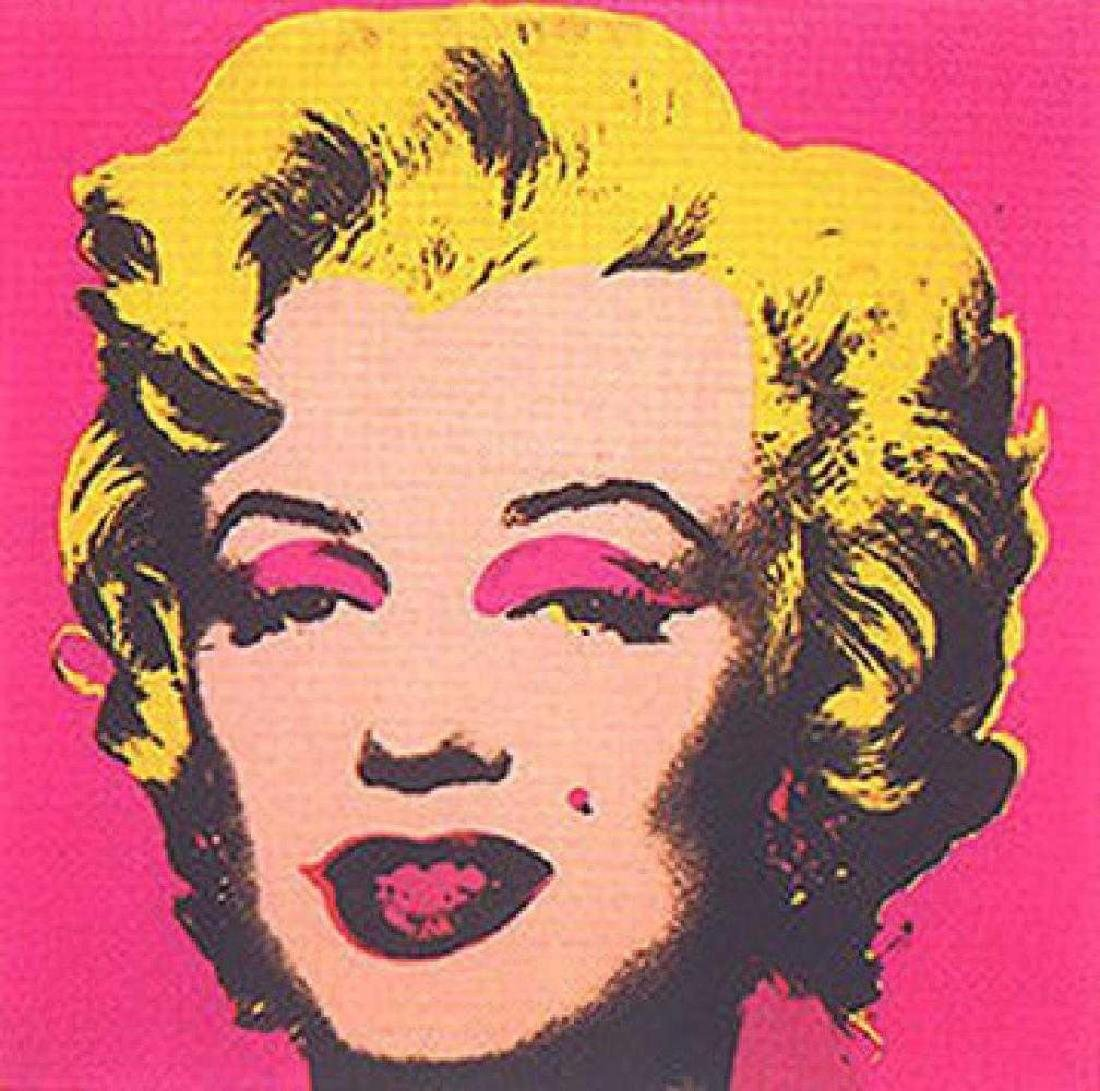 ANDY WARHOL MARILYN II.31 SUNDAY B. MORNING SCREENPRINT