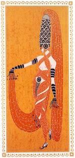 """Erte, """"Scheherazade - 8 """"La Nuit Winter Garden NY"""" 1924"""