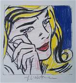 ROY LICHTENSTEIN, Study for Crying Girl 1964 Hand