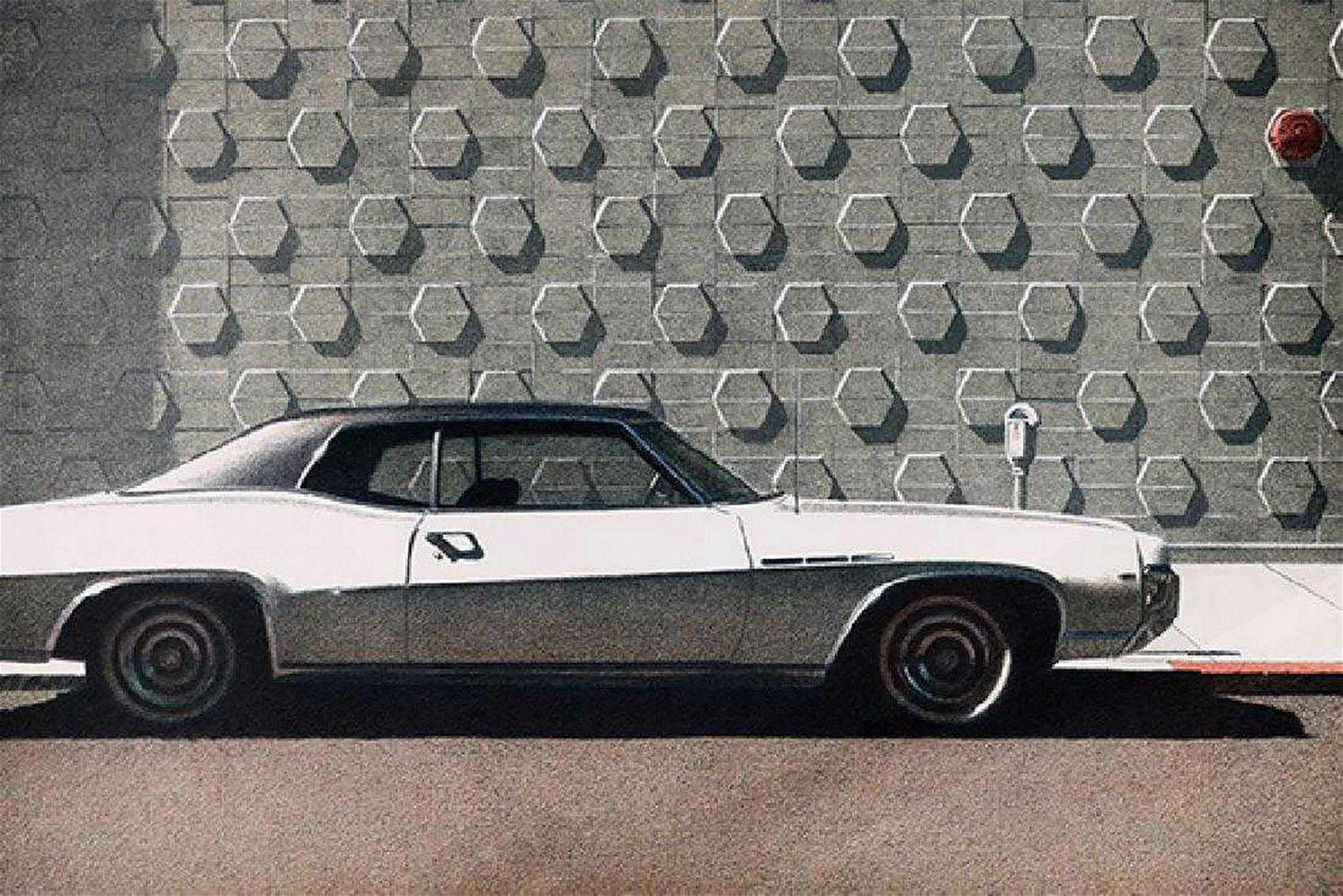 Robert Bechtle (American, b. 1932), Oakland Buick, 1975