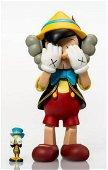 Kaws Pinocchio & Jiminy Cricket Open Edition 2010