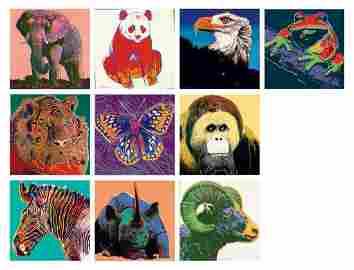 Andy Warhol, Endangered Species Portfolio, 1983