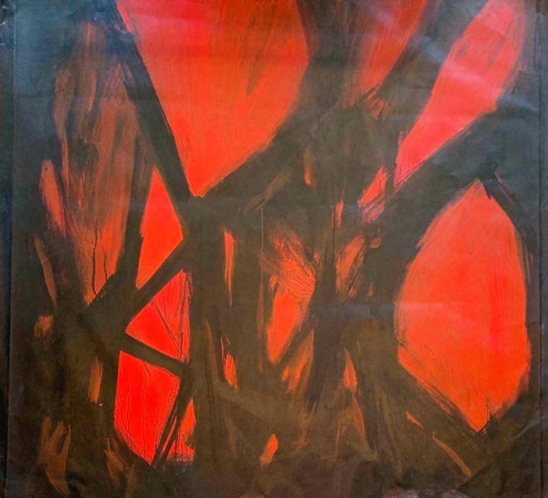 Michael Schofield Abstract Modern Original Oil on