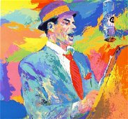 """Leroy Neiman """"Duets"""" Famous Frank Sinatra Hand signed/#"""
