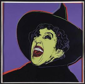 Andy Warhol, The Witch, 1981 signed and numbered