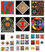 Robert Indiana, The American Dream, Suite of 30 (6 Sign
