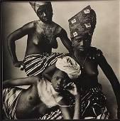 Irving Penn, Three Dahomey Girls, 1967
