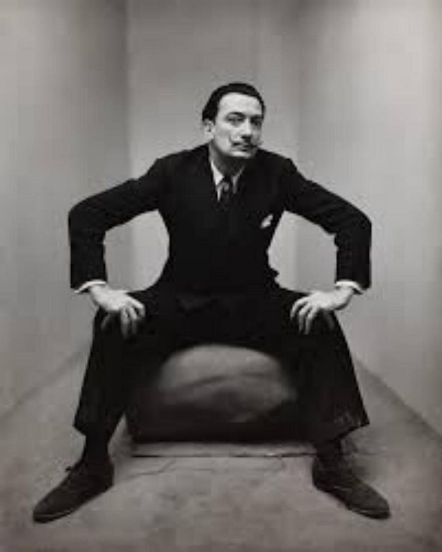 Irving Penn, Salvador Dali, New York, 1947,