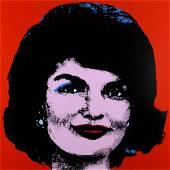 Andy Warhol, Jackie, 1963. Screen print