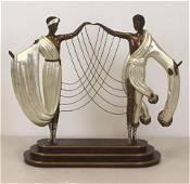 ERTE-The Wedding Bronze Sculpture LE