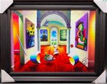 Ferjo Follow the White Path Original Acrylic on Canvas