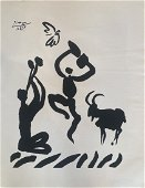 Pablo Picasso Goat Dance Lithograph on Paper