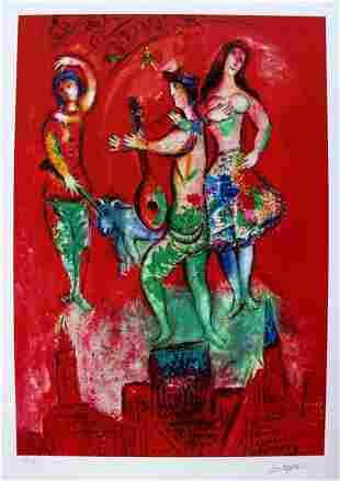 Marc Chagall Carmen Limited Edition Facsimile Signed