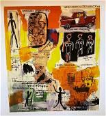 Jean Michel Basquiat Aboriginal 1984 Giclee on Paper