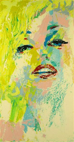 Leroy Neiman - Marilyn Hand Signed LE Serigraph