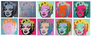 Andy Warhol - Marilyn Monroe Suite Sunday B Morning