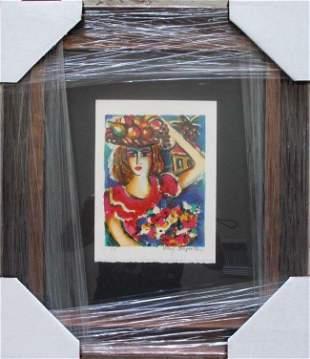 Zamy Steynovitz Bikkurim Framed H/S Serigraph on Paper