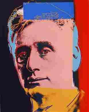 Andy Warhol Louis Brandeis Lithograph